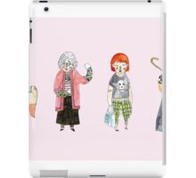 Punk Grannies iPad Case/Skin