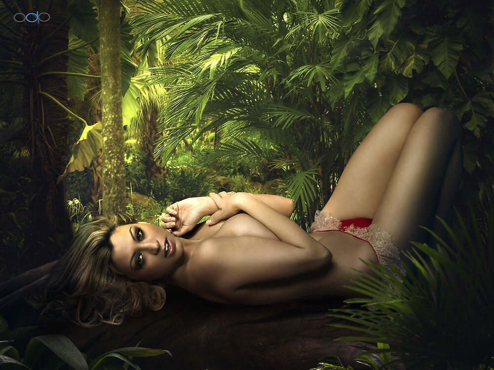 Jessica in a Tropical Paradise by Swede
