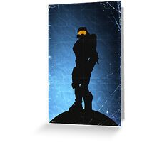 Halo 4 - Spartan 117 Greeting Card