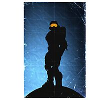Halo 4 - Spartan 117 Photographic Print