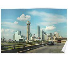 Dallas Skyline Poster