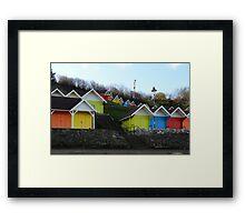 Little Coloured Box's Framed Print