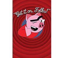 "Adam Carolla's ""Spanky Ham"" Photographic Print"