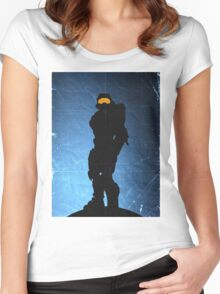 Halo 4 - Spartan 117 Women's Fitted Scoop T-Shirt