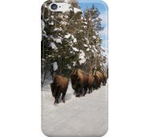 Yellowstone Traffic Jam iPhone Case/Skin