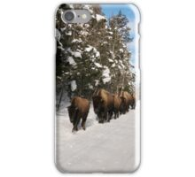Yellowstone Traffic Jam iPhone Case/Skin