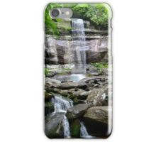 Waterfalls in National Park iPhone Case/Skin