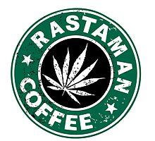 RASTAMAN COFFEE VINTAGE I-PAD CASES by karmadesigner