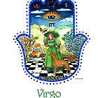 Hamsa for Virgo by Nonna Mynatt
