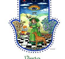 Hamsa for Virgo by Nonna Mynatt