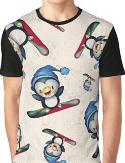 Too Cool To Penguin Graphic T-Shirt