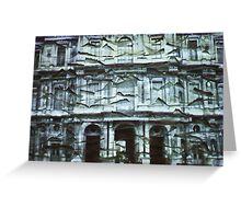 Projection 7 Greeting Card