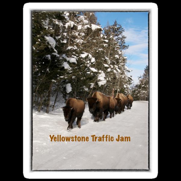 Yellowstone Traffic Jam by diamondphotogal