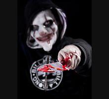 Clown Face Zipped Hoodie