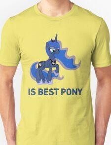 Princess Luna Is Best Pony (Season 2+) - MLP FiM - Brony T-Shirt