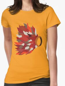 Ring in fire  Womens Fitted T-Shirt
