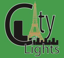 City of Lights (Paris) Kids Clothes