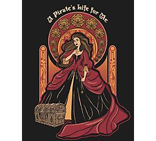 The Pirate Life Photographic Print