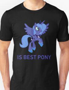 Princess Luna Is Best Pony - MLP FiM - Brony T-Shirt