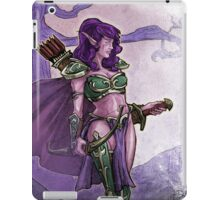 Elf Huntress iPad Case/Skin