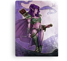 Elf Huntress Canvas Print