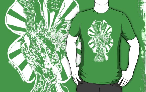 Saint Patricks Day T Shirt by SleightClothing