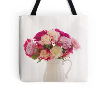 Roses By The Window Tote Bag