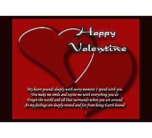 Valentine card 1 Photographic Print