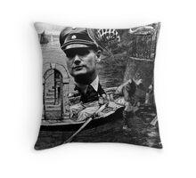 Orwell in Paris 2. Throw Pillow