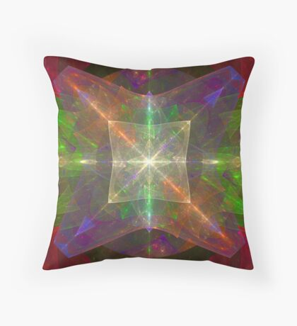 Colored Gels Throw Pillow