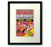 BTTF: Sports Almanac Framed Print