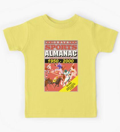 BTTF: Sports Almanac Kids Tee