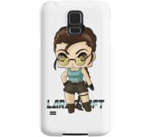 Chibi Lara Croft Samsung Galaxy Case/Skin