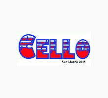 Cello Red White & Blue I Unisex T-Shirt