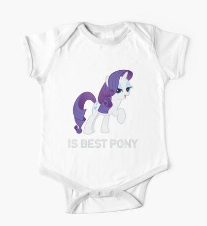 Rarity Is Best Pony - MLP FiM - Brony One Piece - Short Sleeve