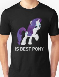 Rarity Is Best Pony - MLP FiM - Brony T-Shirt