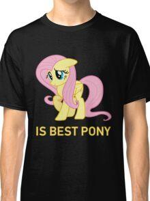 Fluttershy Is Best Pony - MLP FiM - Brony Classic T-Shirt