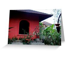'Casa Luna Aesthetic' - Ubud Bali, Indonesia Greeting Card