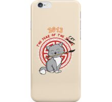 Year of the Cat iPhone Case/Skin