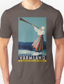 Vintage poster - Sweden T-Shirt