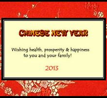 Chinese red brocade New Year by CatalystBC