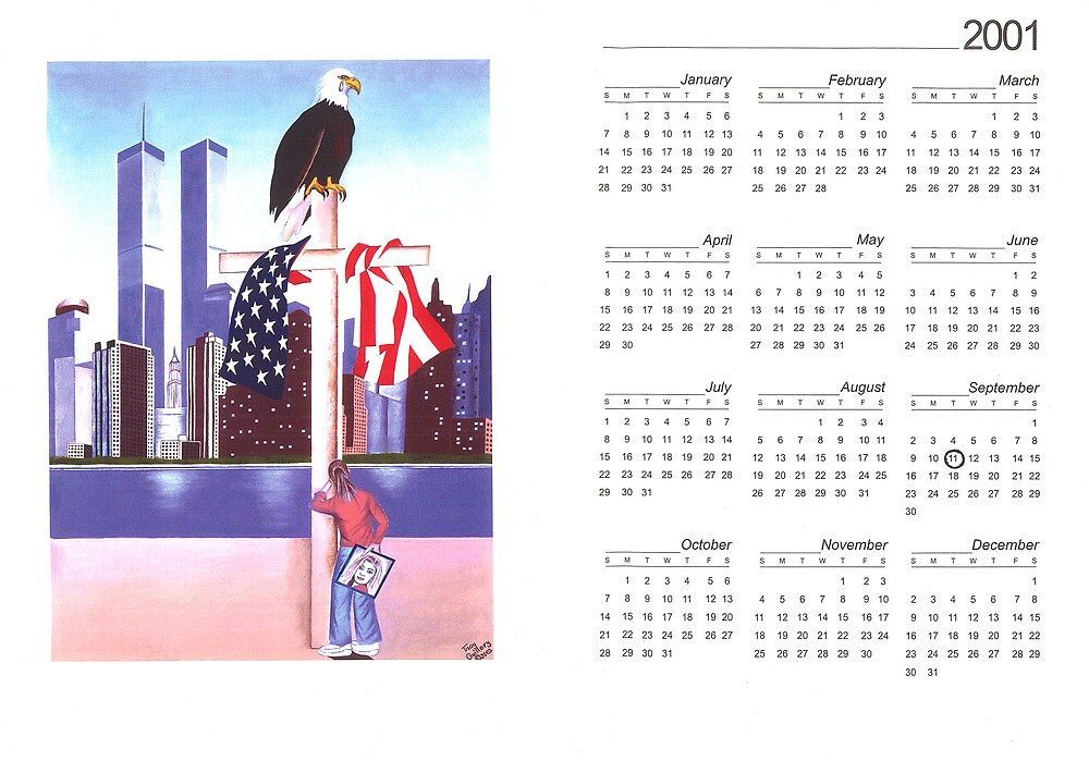 America We'll Never Forget by Troy Guillory