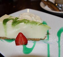 Dessert: Full Cream Cheesecake by aussiebushstick