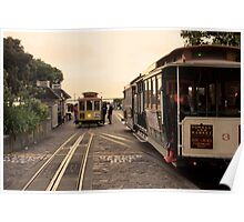 Trolly Cars Poster
