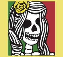 Rasta skeleton girl. Kids Clothes