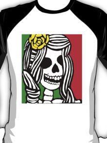 Rasta skeleton girl. T-Shirt