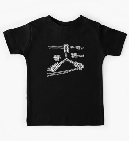 BTTF: Flux capacitor Kids Tee
