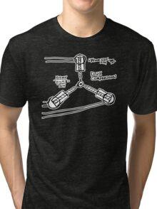 BTTF: Flux capacitor Tri-blend T-Shirt