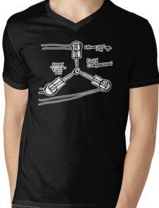 BTTF: Flux capacitor Mens V-Neck T-Shirt