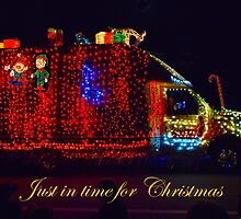 JUST IN TIME FOR CHRISTMAS by Thomas Barker-Detwiler